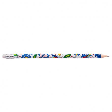 Crayon avec une gomme à effacer - Cachoube