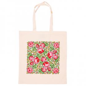 Bawełniana torba na zakupy - góralska