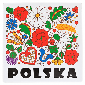 Hűtőmágnes - Kociewie Poland