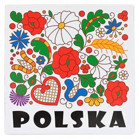 Kjøleskap magnet - Kociewie Polen