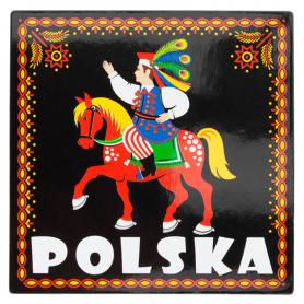 Koelkastmagneet - krakowiaczek, Polen