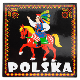 Kjøleskap magnet - krakowiaczek, Polen
