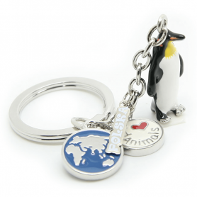 Brelok ANIMALS pingwin - a'la charms