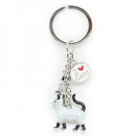 Schlüsselanhänger TIERE siamesische Katze - A'la Charms