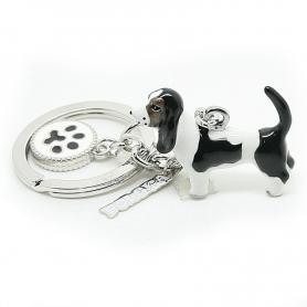 Brelok ANIMALS pies basset hound - a'la charms