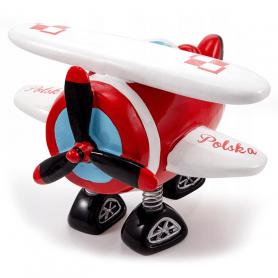 Sparschwein Flugzeug Polen