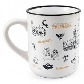 Mug like tin Warsaw Royal Castle