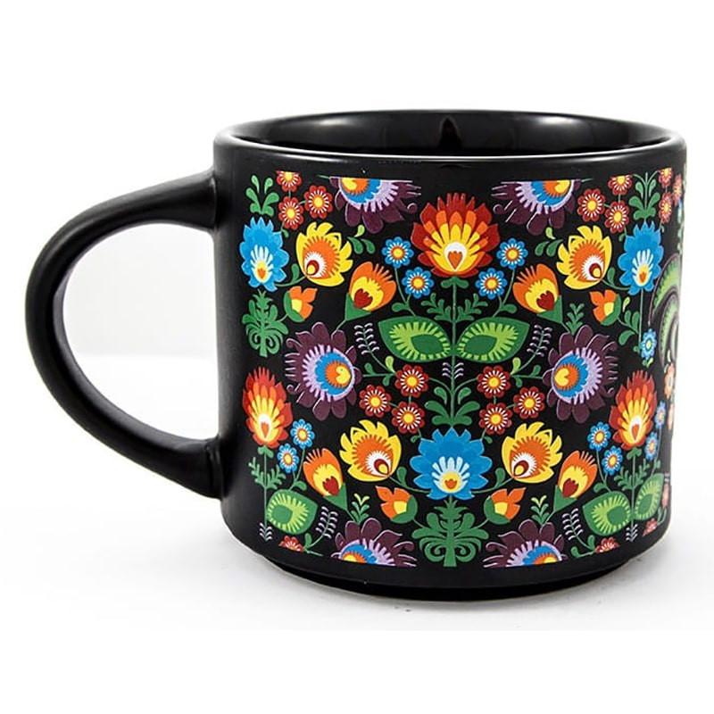 Mug large folklore Pologne