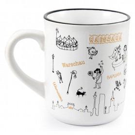Mug like tin Warsaw