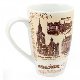 Big Gdansk mug latte sepia