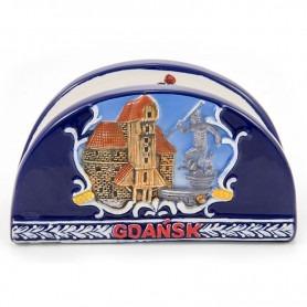 Ceramic napkin holder Gdańsk