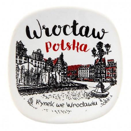Aimant frigo en céramique Wrocław Oldbook market