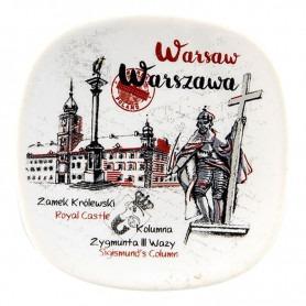 Keramik Kühlschrank Magnet Warschau Zygmunt