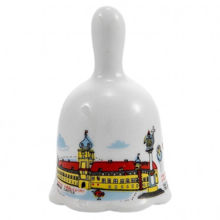 Campana de cerámica Castillo Real de Varsovia