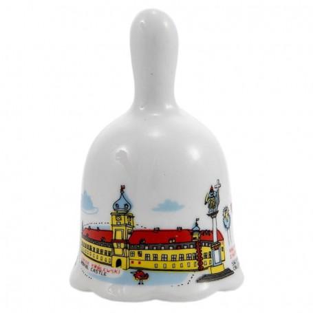 Varšuvos karališkosios pilies keramikinis varpas