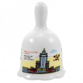 Keramikglocke Warschauer Palast für Kultur und Wissenschaft