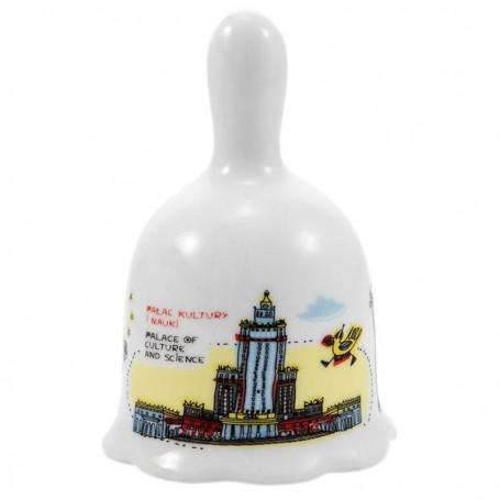 Campana de cerámica Varsovia Palacio de Cultura y Ciencia