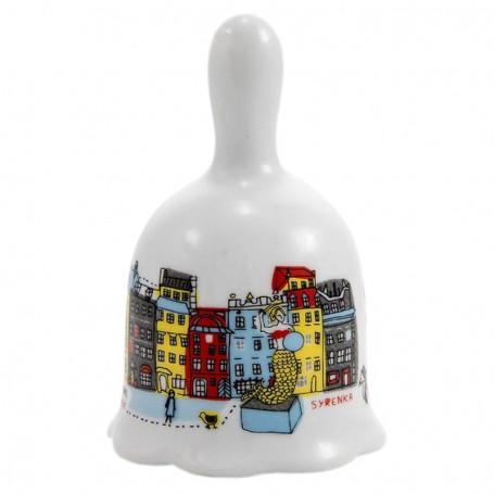 Varšuvos turgaus aikštė keramikiniu varpu