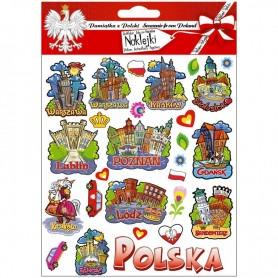Naklejki wypukłe Polska