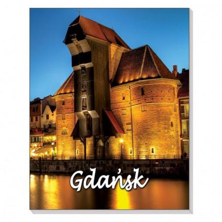 Cuaderno 3D con imán Gdańsk Crane