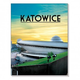 Magneet 3D notitieboekje Katowice Spodek