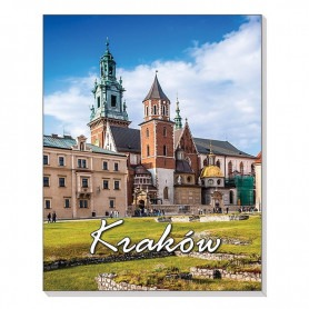 Magnete taccuino 3D Krakow Wawel
