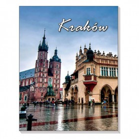 Magnet 3D Notizbuch Krakau Cloth Hall