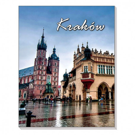Magnet 3D notebook Krakow Cloth Hall
