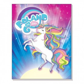 Magnet 3D notebook Polsko Unicorn