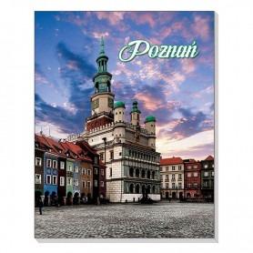 3D mágneses notebook Poznań városháza