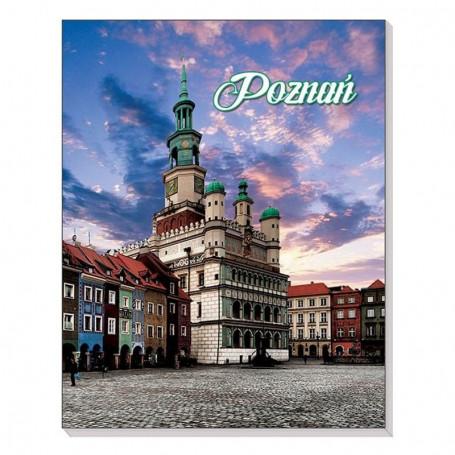 Cahier magnétique 3D Hôtel de ville de Poznań
