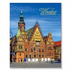 Magnet 3D-Notizbuch Breslau Rathaus