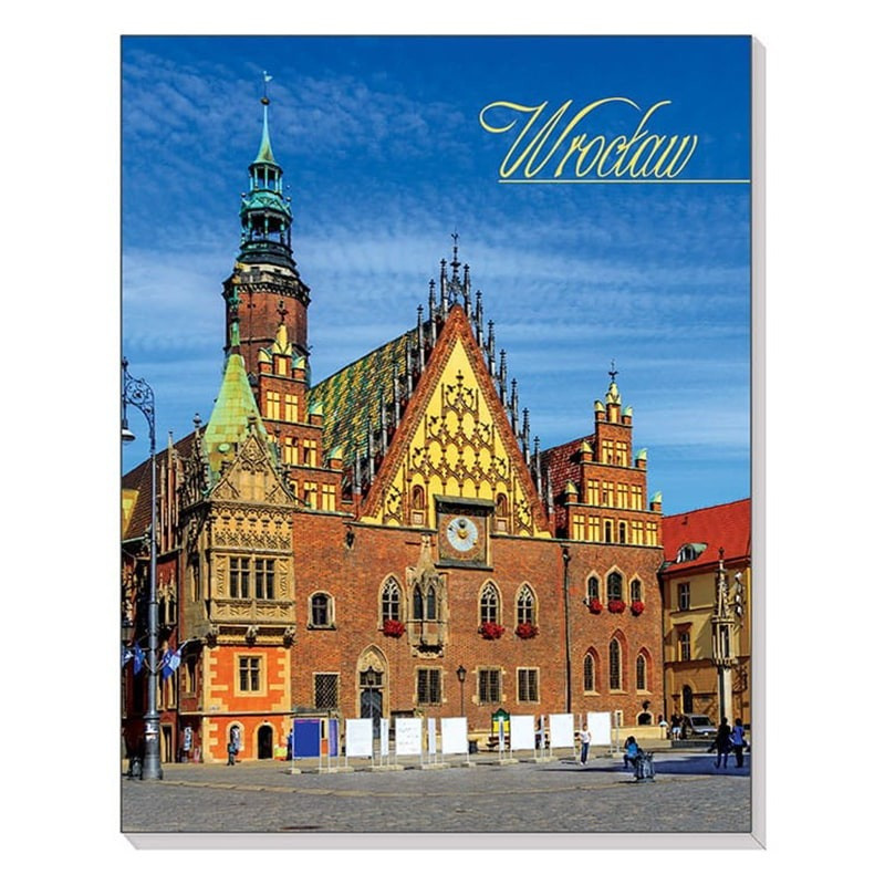 Cahier magnétique 3D Wroclaw Town Hall
