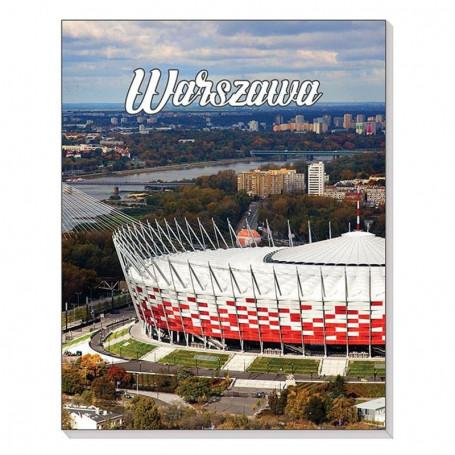 Cahier magnétique 3D Stade National de Varsovie