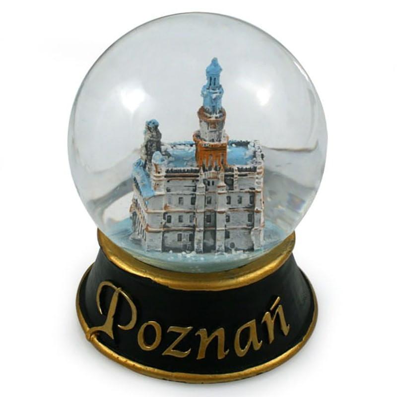 Kula śniegowa 80 mm - Poznań Ratusz
