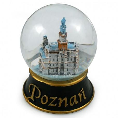 Boule à neige 80 mm - Hôtel de ville de Poznań