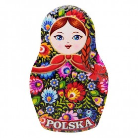 Matrioszka fridge magnet - Polish folk