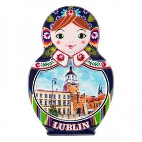 Matryoshka kylmagnet - Lublin