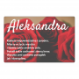 Aimant de réfrigérateur - Alexander