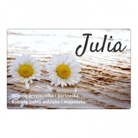 Fridge magnet - Julia
