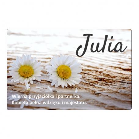 Magnes na lodówkę - Julia