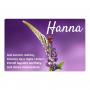 Aimant pour réfrigérateur - Hanna