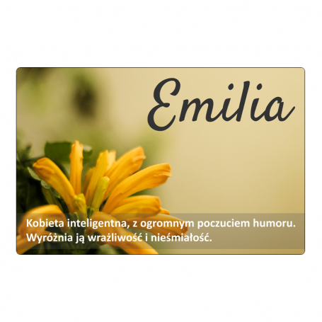 Aimant frigo - Emilia
