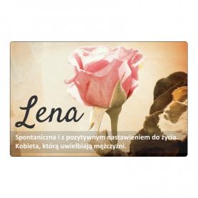 Magnes na lodówkę - Lena