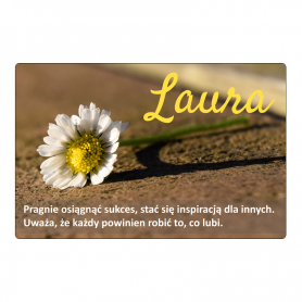 Fridge magnet - Laura
