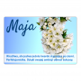 Magnes na lodówkę - Maja