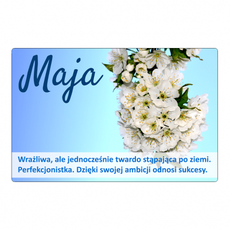 Aimant pour réfrigérateur - Maja