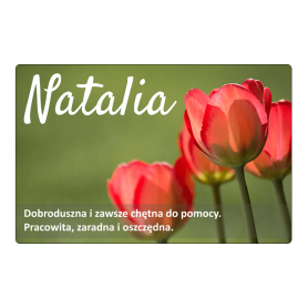 Kühlschrankmagnet - Natalia