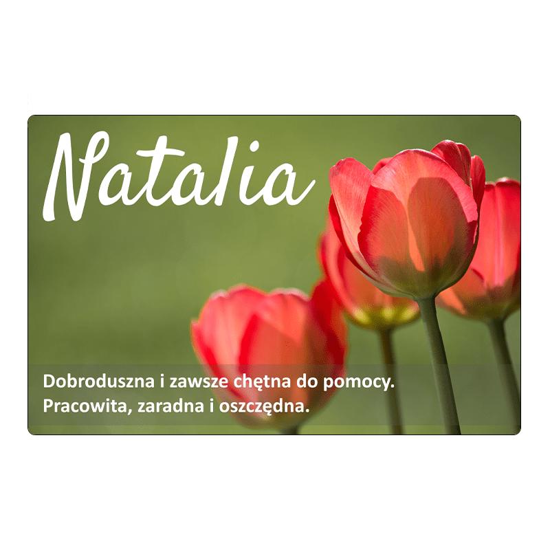 Aimant pour réfrigérateur - Natalia