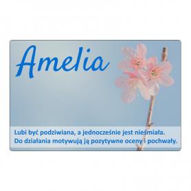 Fridge magnet - Amelia